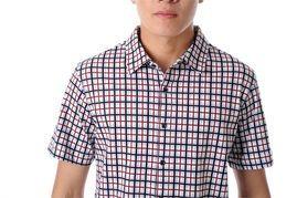 男士丝光棉衬衫