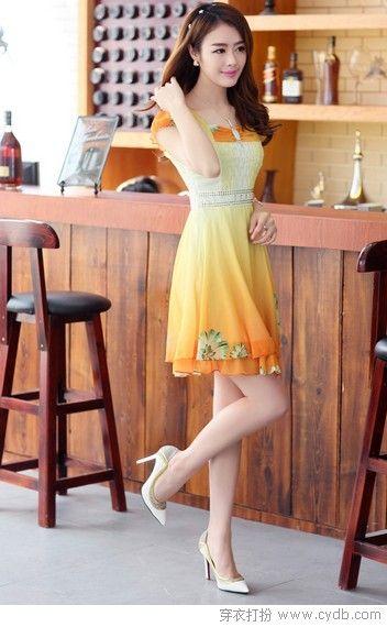 连衣裙的N种风情